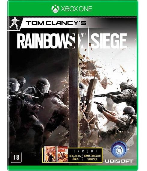 Rainbow Six Siege Xbox One Disco Fisico Lacrado Br Promoção