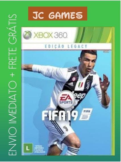 Fifa 19 Legacy Edition Original Xbox 360 - Mídia Digital