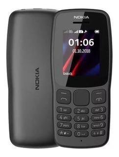 Celular Nokia 106 Idoso Dois Chips Original