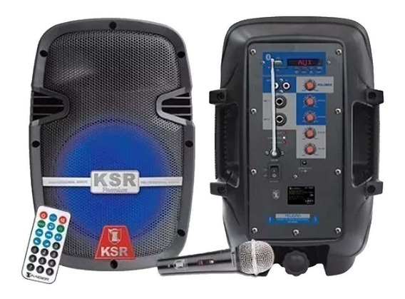 Bocina Bafle 8 Recargable Premium Kaiser 3400w Bluetooth