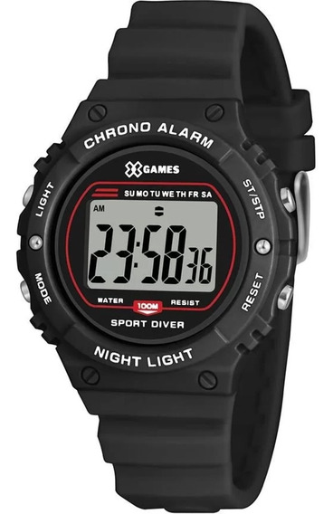 Relógio Digital Xgames Xkppd065 Bxpx
