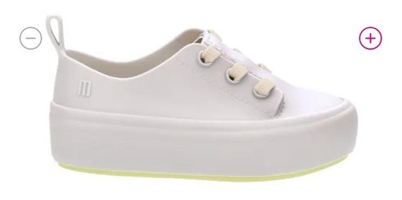 Mini Melissa Ulitsa Sneaker Bege Amarelo (infantil)