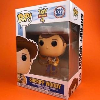 Funko Pop Toy Story 4 522 Sheriff Woody Nuevo Magic4ever