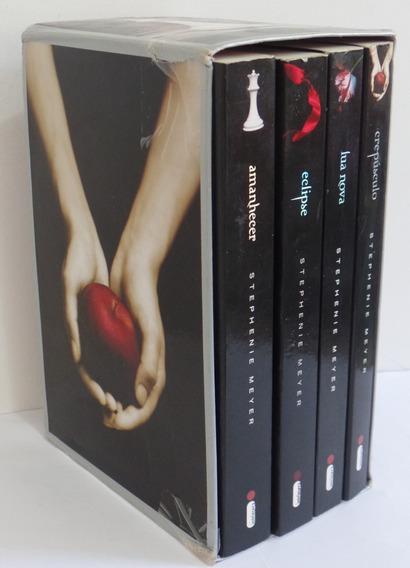 Livro Saga Crepúsculo, Lua Nova, Eclipse E Amanhecer