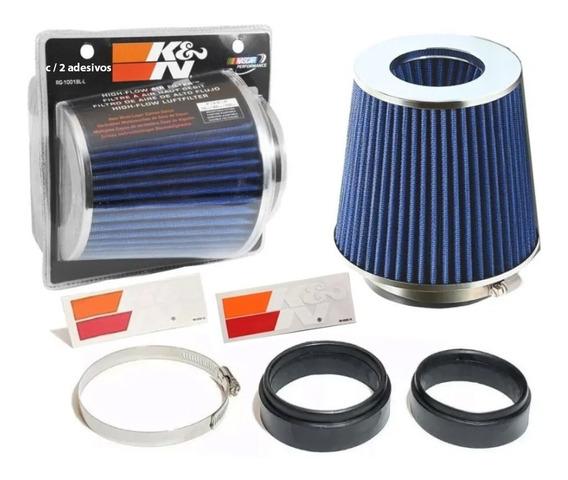 Filtro De Ar Esportivo K&n Duplo Fluxo Rg1001bl Ajustavel
