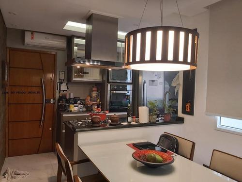 Apartamento 2 Dormitórios Para Venda Em Santo André, Campestre, 2 Dormitórios, 1 Suíte, 3 Banheiros, 2 Vagas - Asr0034_2-1127002