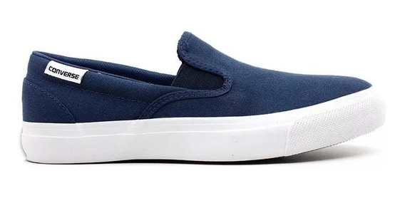 Tênis All Star Converse Slip On Azul Marinho