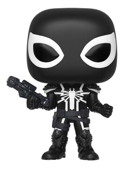 Funko Pop Agent Venom Ex (chase Solo En Compra De 6 Pzas)