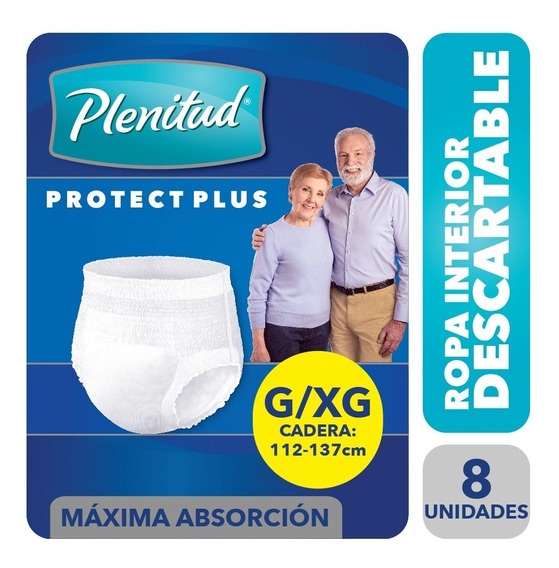 Plenitud Protect Plus Ropa Interior X 8