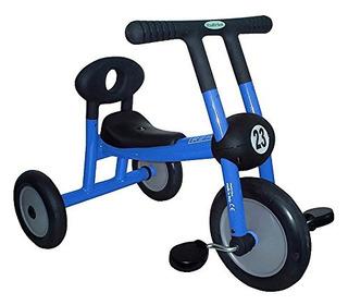 Juguete Niño-seguro Azul Triciclo W Pedales