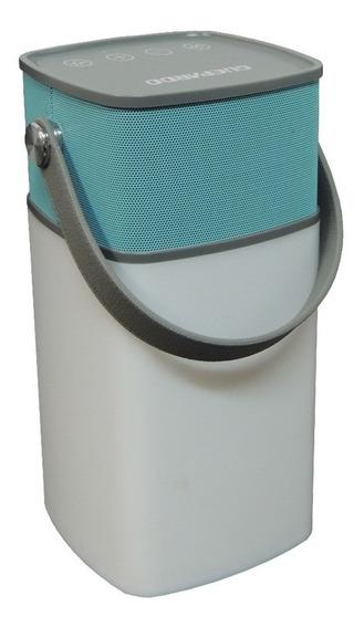 Lampião E Caixa Som Led Recarregável Speaker Lamp Caixa Som