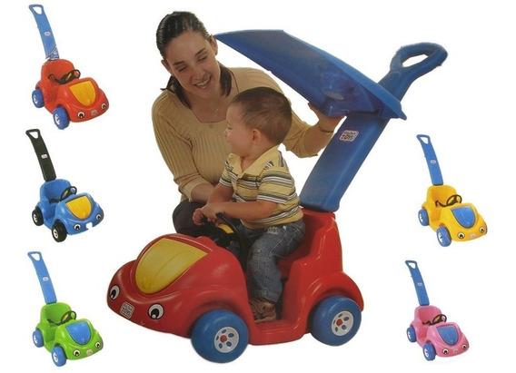 Juguete Carrito Montable Mini Car Buggy Buggy Con Techo Sol