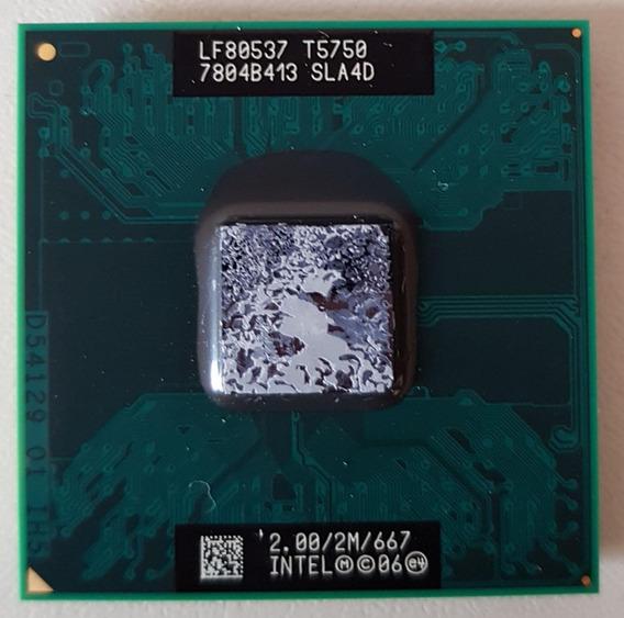 Processador Intel Core 2 Duo T5750 2m 2.0ghz