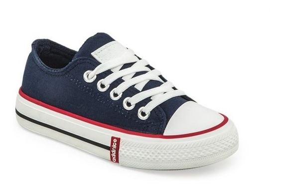 Zapatillas Addnice Vulcan Azul Con Cordón ¡¡envío Gratis!!