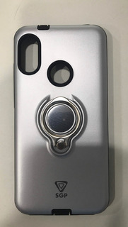 Capa Anti Impacto Xiaomi Redmi 6 Pro Com Suporte De Dedo