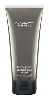 Mascara Facial Mac Mineralize Reset & Revive Charcoal Mask