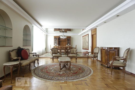Apartamento No 5º Andar Mobiliado Com 3 Dormitórios E 2 Garagens - Id: 892981869 - 281869