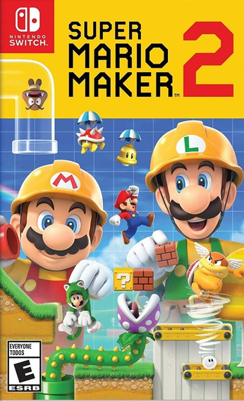 Super Mario Maker 2 Switch Mídia Física Pronta Entrega