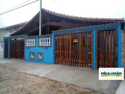 Casa Com 2 Dorms, Jardim Praia Grande, Mongaguá - R$ 175.000,00, 65m² - Codigo: 1109 - V1109