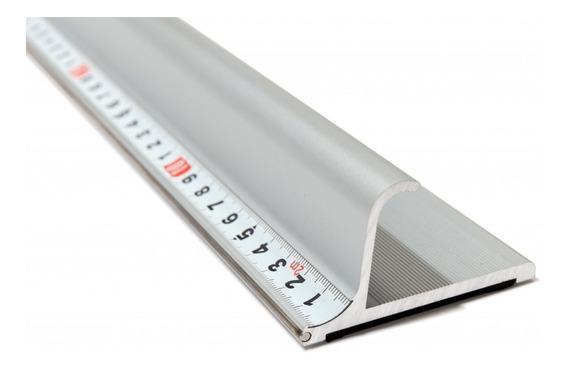Reglas De Corte De Seguridad Aluminio Presicion 50 Cm