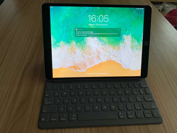 iPad Pro 10,5 Pol 256gb Cinza Espacial + Teclado Smart Apple