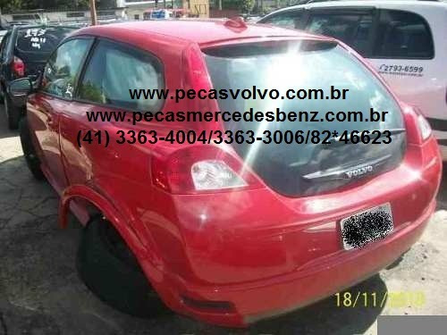 Volvo C30 Batida Para Tirar Peças / Sucata / Bomba / Motor