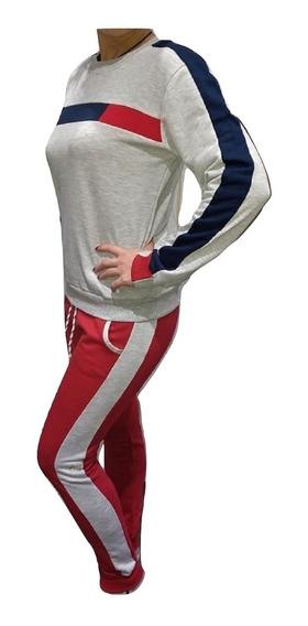 Conjunto Mujer Algodón Frizado!!!! Buzo Y Jogging!!!