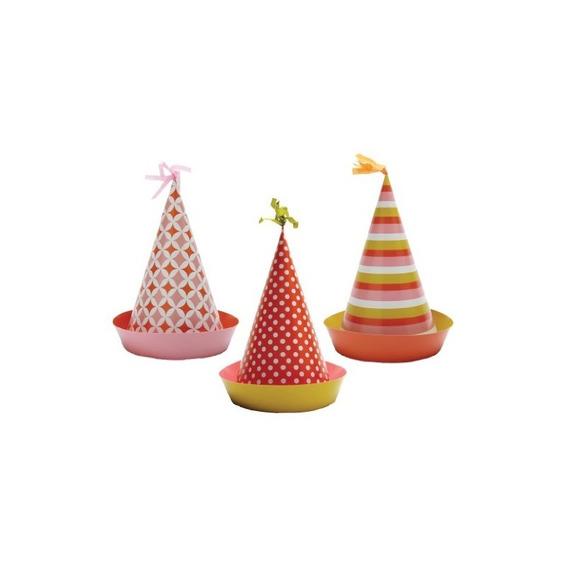 Party Partners Design Retro Sweet Soiree Sombreros Temáticos