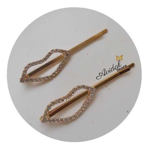 Duo Pinzas/ Hebillas Para El Cabello/ Hair Clips/ Accesorios
