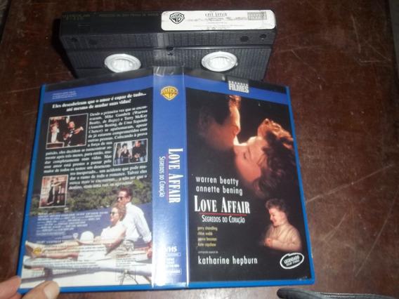 Fita Filme Vhs Legendado Segredos Do Coração Warren Beatty
