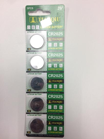 Paquete De 5 Pilas Modelo Cr2025