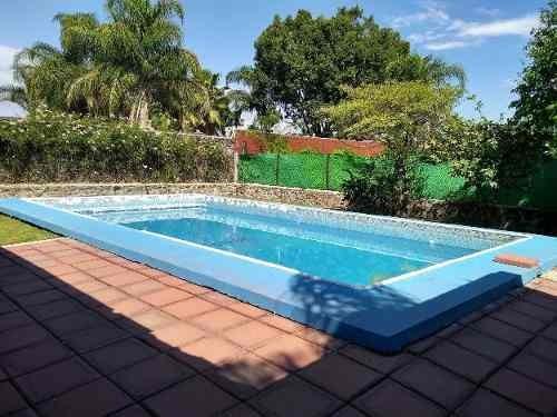 Casa Con Alberca Grande Palapa Y Jardin Economica