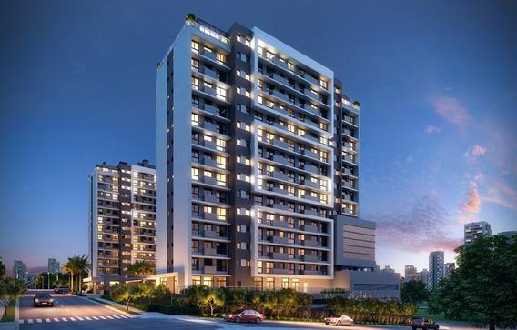 Apartamento Em Central Parque Com 1 Dormitório - Rg2054