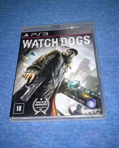 Watch Dogs Ps3 M. Fisica Frete R$10