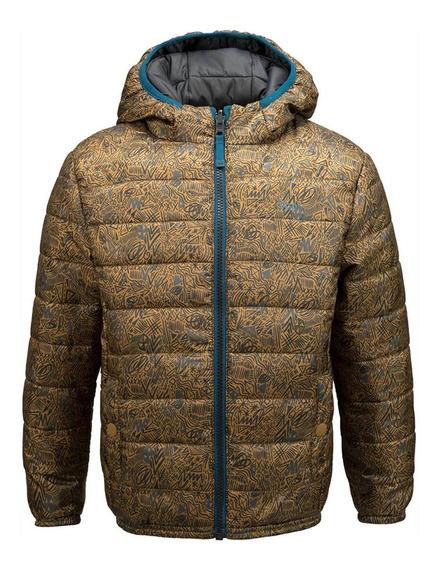 Chaqueta Niño Lippi Bewarm 2-face Hoody Jacket Verde I19