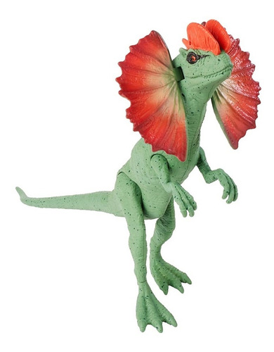 Imagen 1 de 5 de Jurassic World Dilophosaurus Dinosaurio De Juguete