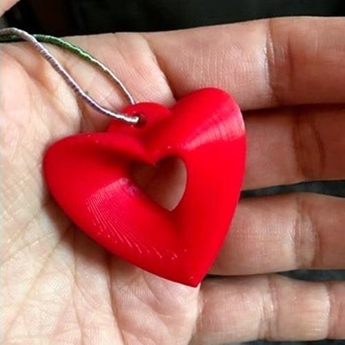 Coração Pingente Em Möbius Chaveiro Dia Dos Namorados 10 Und