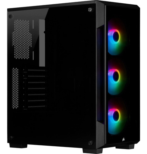 Ltc Case Corsair Icue 220t Rgb Black Vidrio Templado M.tower