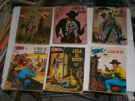 Tex 1ª Ediçao Pacote 12 Revistas