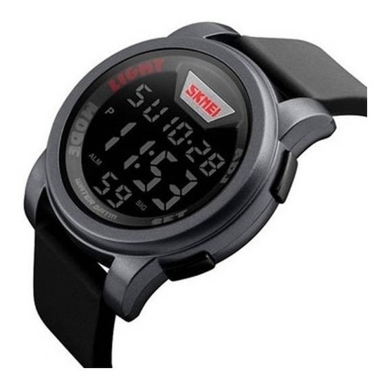 Relógio Masculino Skmei Casual Esportivo Cinza Original