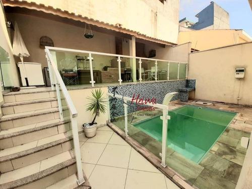 Imagem 1 de 29 de Sobrado Com 3 Dormitórios À Venda, 280 M² Por R$ 1.100.000,00 - Parque São Domingos - São Paulo/sp - So0799