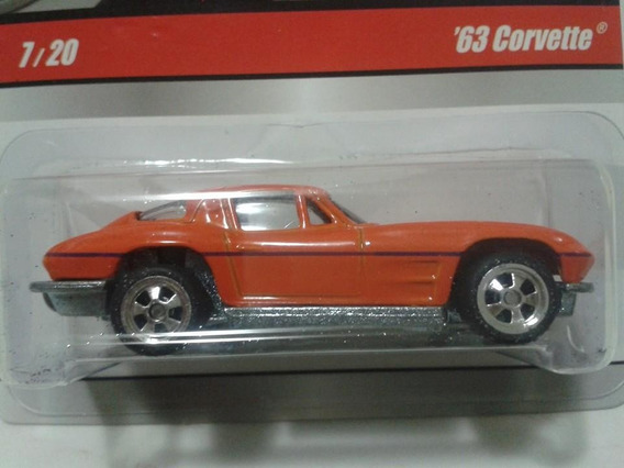 Miniatura Corvette Larry´s Garage Hot Wheels Novo !