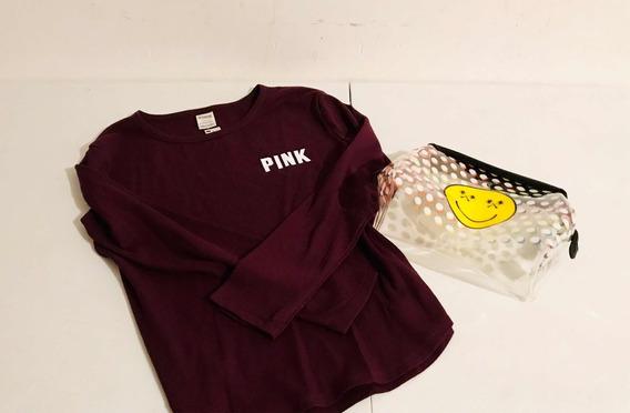 Sweater Victorias Secret Pink Original Paquete Nuevo
