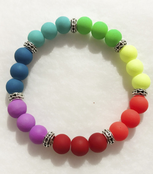 Pulsera De Los Colores De Los Chakras Para Equilibrarlos