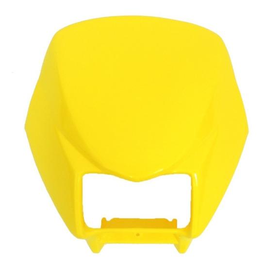 Carenagem Do Farol Nxr Bros 150 Cc Amarelo 2008