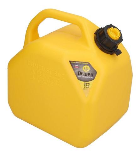 Imagen 1 de 2 de Bidon De Combustible Profesional Amarillo De 10 Litros