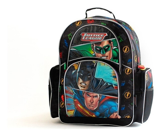 Mochila Escolar Justice League 17 Plg. Top3 Oficial