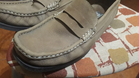 Zapato Mocasin Hush Puppies Usados