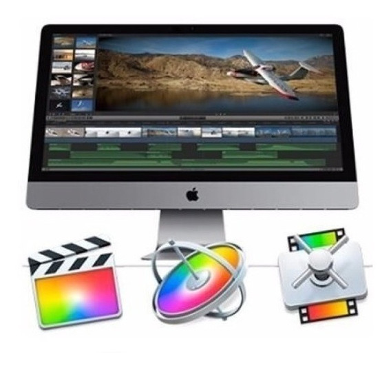 Final Cut Pro X + Motion + Compressor Para Mac