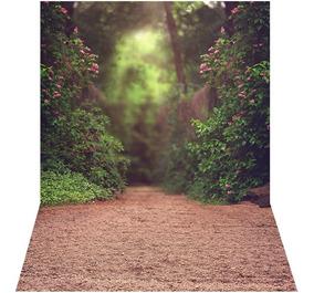 Fundo Fotográfico Em Tecido Gigante Floresta Ffj-69 - 3x4m